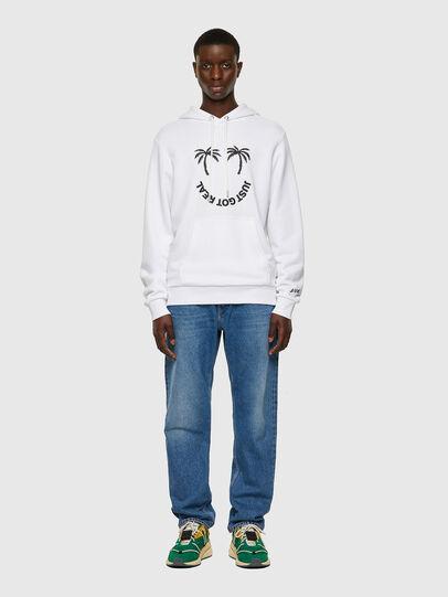 Diesel - S-GIRK-HOOD-B1, White - Sweaters - Image 5