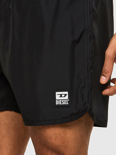 Diesel - BMBX-REEF-40-X, Black - Swim shorts - Image 3