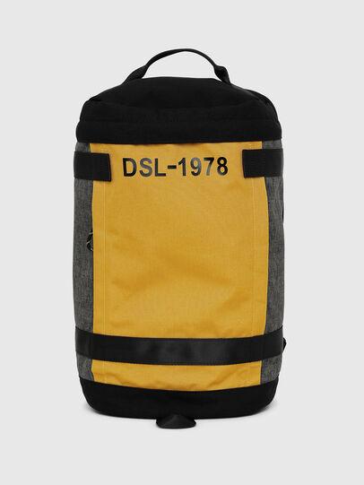 Diesel - PIEVE, Black/Yellow - Backpacks - Image 1