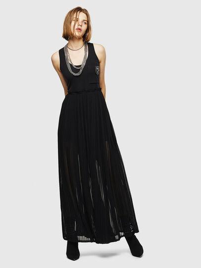 Diesel - D-TEHEI, Black - Dresses - Image 1