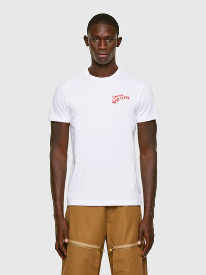 Diesel - T-DIEGOS-K15, White - T-Shirts - Image 1