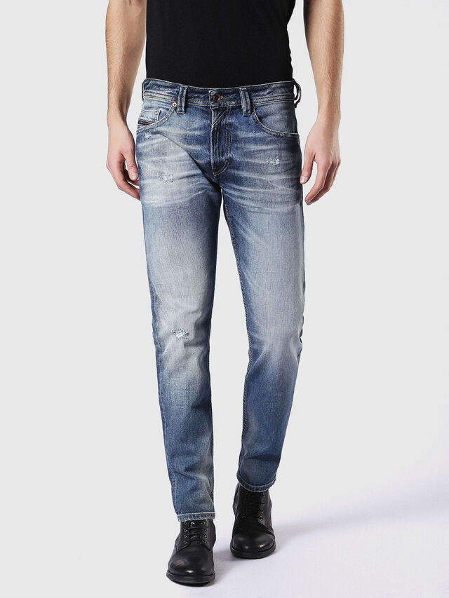 Diesel - Thommer 084DD, Medium blue - Jeans - Image 2