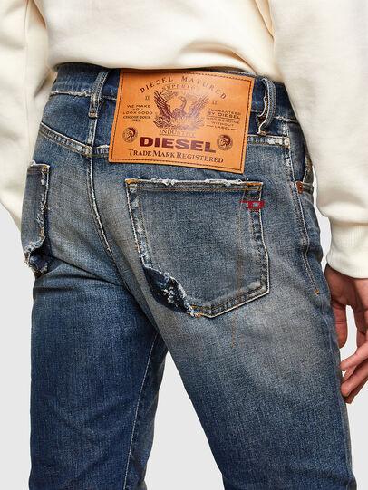 Diesel - D-Strukt 009TX, Dark Blue - Jeans - Image 5