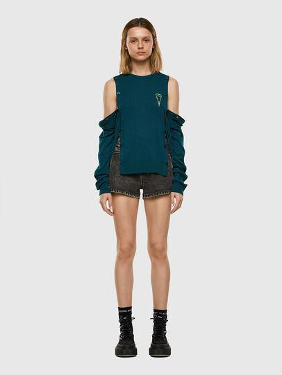 Diesel - M-MIRANDA, Water Green - Knitwear - Image 6