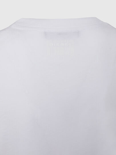 Diesel - T-SILY-E50, White - T-Shirts - Image 4