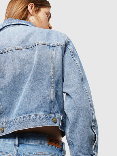 Diesel - DE-CATY, Light Blue - Denim Jackets - Image 5