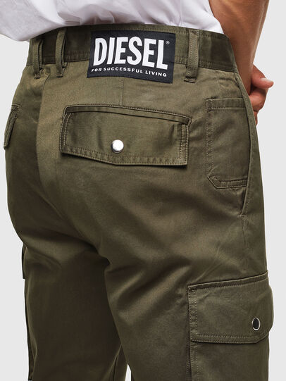 Diesel - P-JARED-CARGO, Green - Pants - Image 4