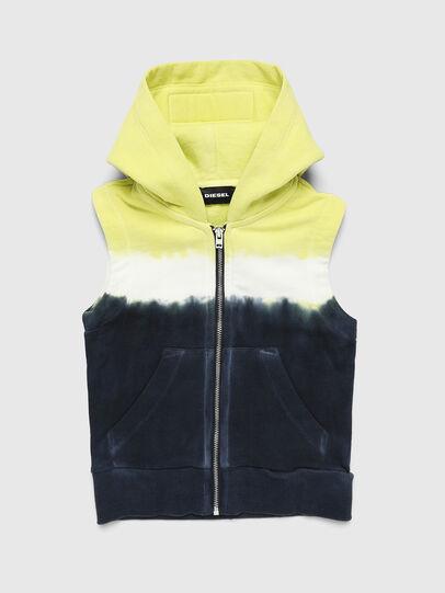 Diesel - SELBYDEEPB, Blue/Yellow - Sweaters - Image 1