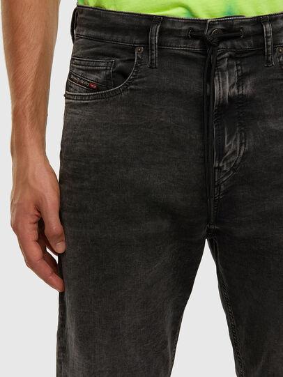 Diesel - D-Vider JoggJeans 009FZ, Black/Dark grey - Jeans - Image 3