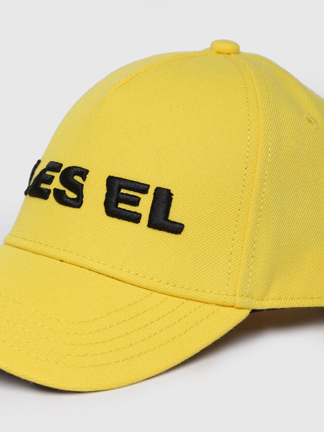 Diesel - CIDIES, Yellow - Caps, Hats and Gloves - Image 2