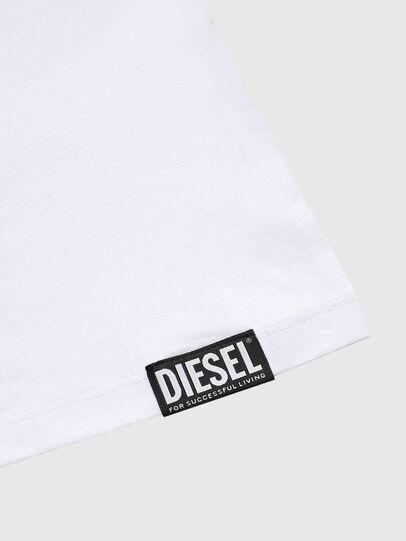Diesel - UMTEE-MICHAEL, White - Tops - Image 3