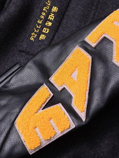 Diesel - JHARRYZ, Black/Orange - Jackets - Image 3