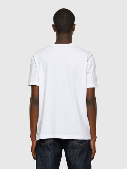 Diesel - T-JUST-INLOGO, White - T-Shirts - Image 2