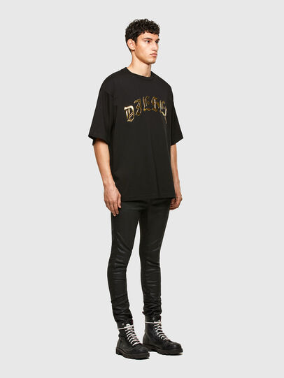Diesel - T-BALL-A1, Black - T-Shirts - Image 4