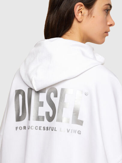 Diesel - F-BILLY-LOGO, White - Sweaters - Image 4