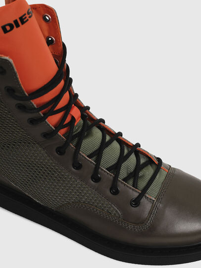 Diesel - H-CAGE DBZ, Olive Green - Boots - Image 5