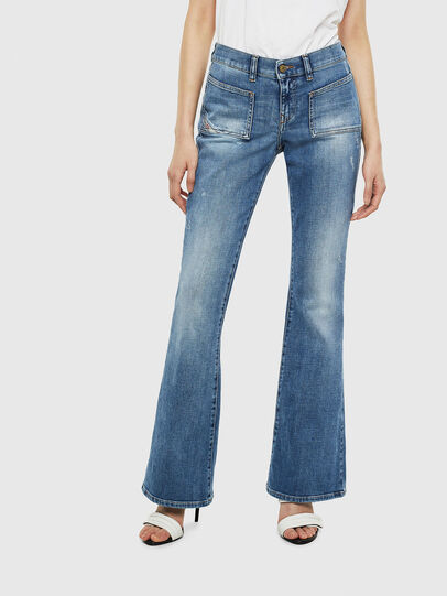 Diesel - D-Ebbey 0099M, Medium blue - Jeans - Image 1