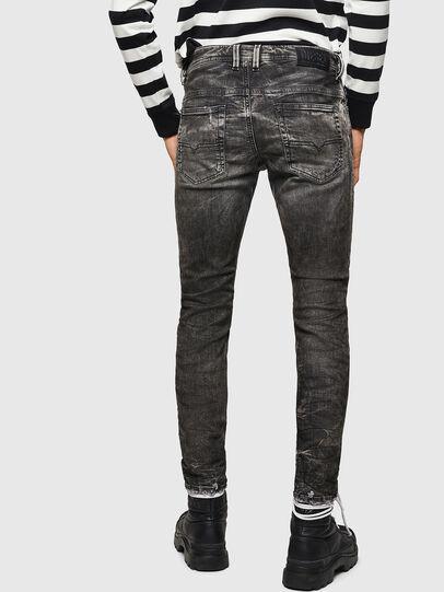 Diesel - Thommer JoggJeans 0890B, Black/Dark grey - Jeans - Image 2