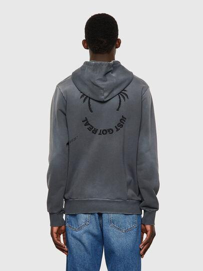 Diesel - S-GIRK-HOOD-B5, Dark grey - Sweaters - Image 2