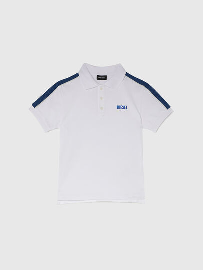 Diesel - TRALFYS1, White/Blue - T-shirts and Tops - Image 1