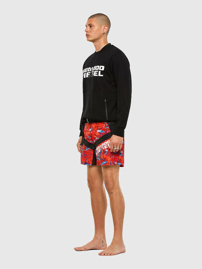 Diesel - BMBX-CAYBAYDOO, Orange - Swim shorts - Image 4