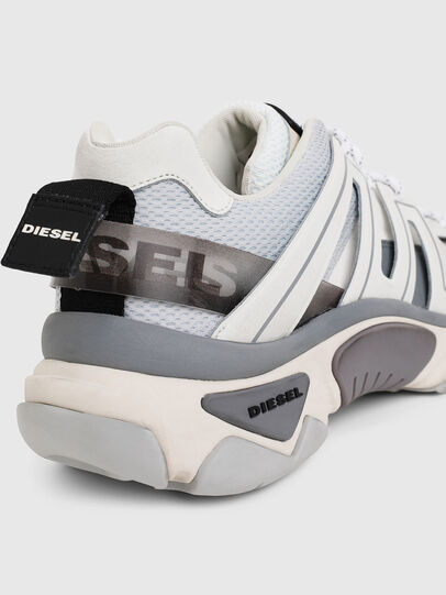 Diesel - S-KIPPER LOW TREK, White/Grey - Sneakers - Image 7