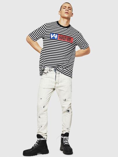 Diesel - T-VIKTOR, Black/White - T-Shirts - Image 5