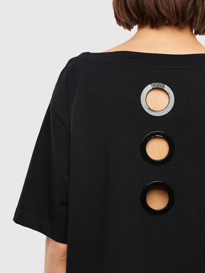 Diesel - T-SBUSETTE, Black - T-Shirts - Image 3