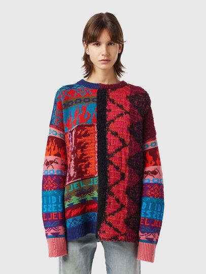 Diesel - M-VIVYAN, Red/Pink - Knitwear - Image 1