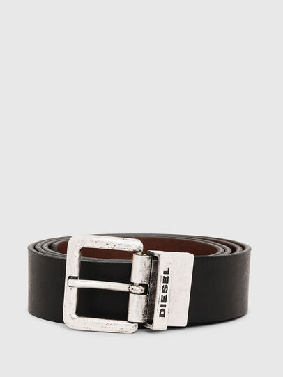 Diesel - B-DOUCKLE II, Black/Brown - Belts - Image 1