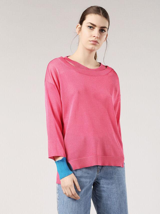 M-NECK, Hot pink