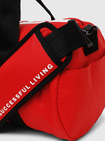 Diesel - F-BOLD DUFFLE, Red - Travel Bags - Image 4