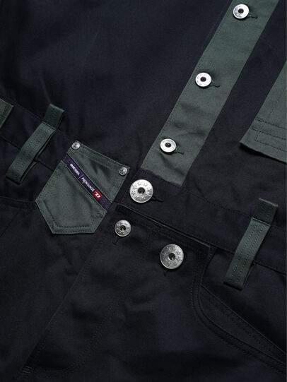 Diesel - PR-JM01, Dark Blue - Jumpsuits - Image 4