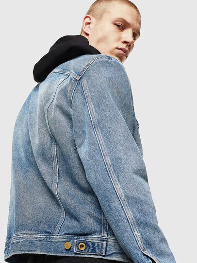 Diesel - D-BRAY, Blue Jeans - Denim Jackets - Image 5