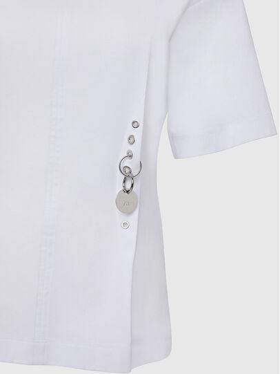 Diesel - T-SHEELA, White - T-Shirts - Image 3