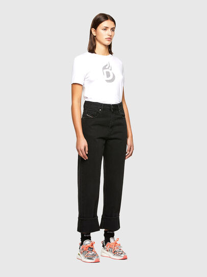 Diesel - T-SILY-R1, White - T-Shirts - Image 5