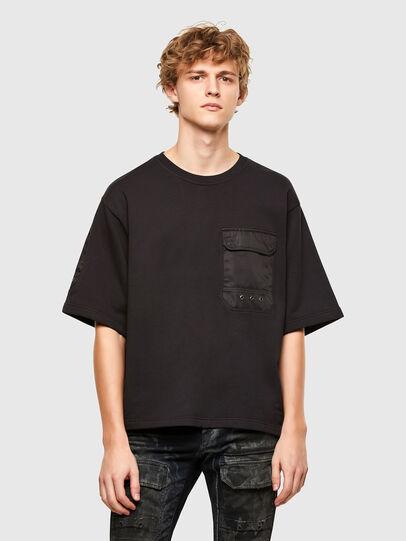Diesel - T-DOLFY, Black - T-Shirts - Image 1