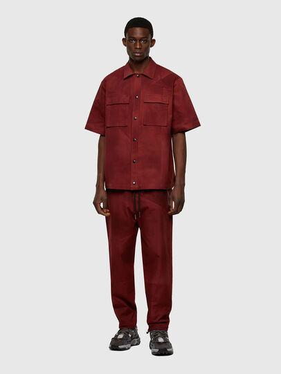Diesel - S-GUNN-TIE, Red - Shirts - Image 5