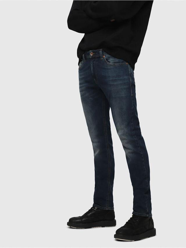 Diesel - Thommer 084BU, Dark Blue - Jeans - Image 1