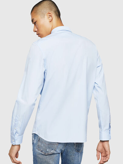 Diesel - S-BILL, Light Blue - Shirts - Image 2