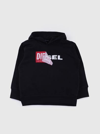 Diesel - SALBY OVER, Black - Sweaters - Image 1