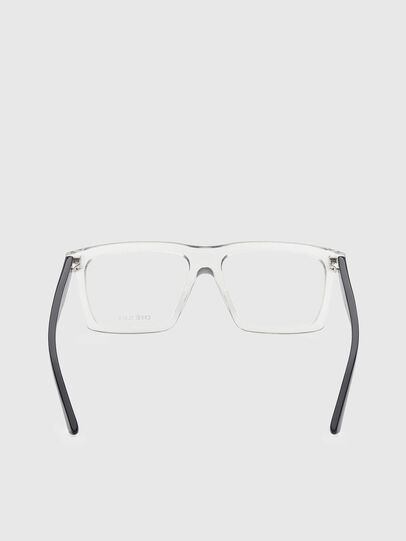 Diesel - DL5399, White/Black - Eyeglasses - Image 4