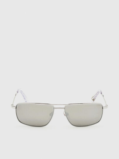 Diesel - DL0308, White - Sunglasses - Image 1