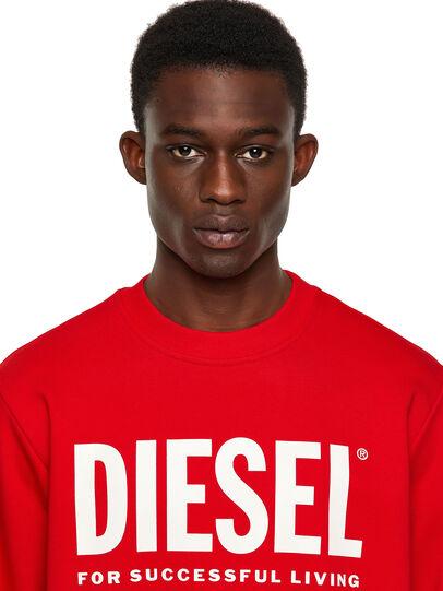 Diesel - S-GIRK-ECOLOGO, Red - Sweaters - Image 3
