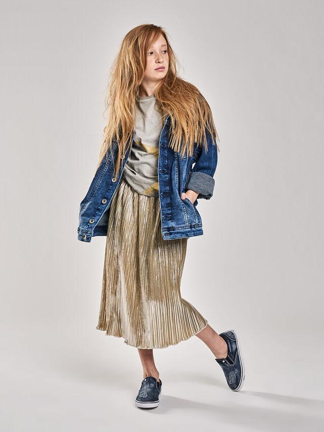 KIDS GLOBI, Gold - Skirts - Image 1