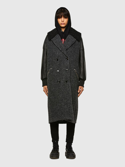 Diesel - W-ELSKE, Black - Winter Jackets - Image 1
