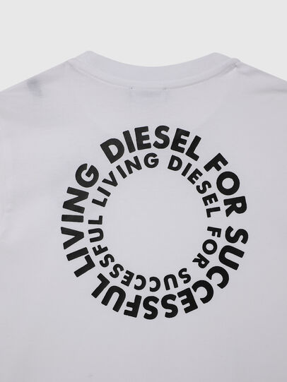Diesel - TDIEGOSX46, White - T-shirts and Tops - Image 4