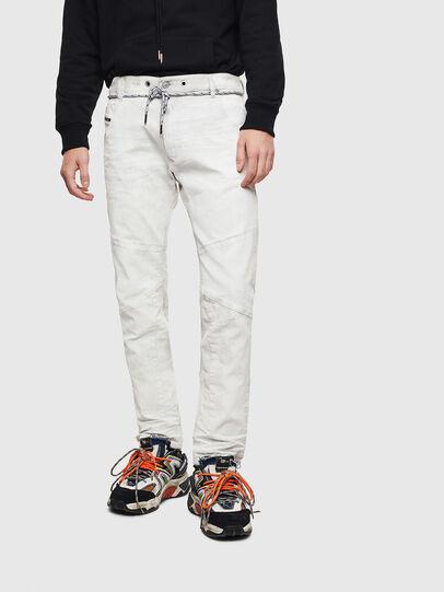Diesel - D-Luhic JoggJeans 069LZ, White - Jeans - Image 1