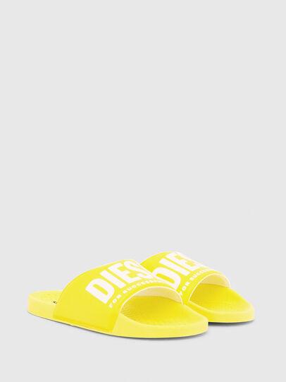 Diesel - FF 01 SLIPPER YO, Yellow - Footwear - Image 2