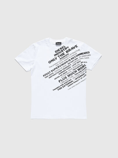Diesel - TDIEGOS3, White - T-shirts and Tops - Image 1